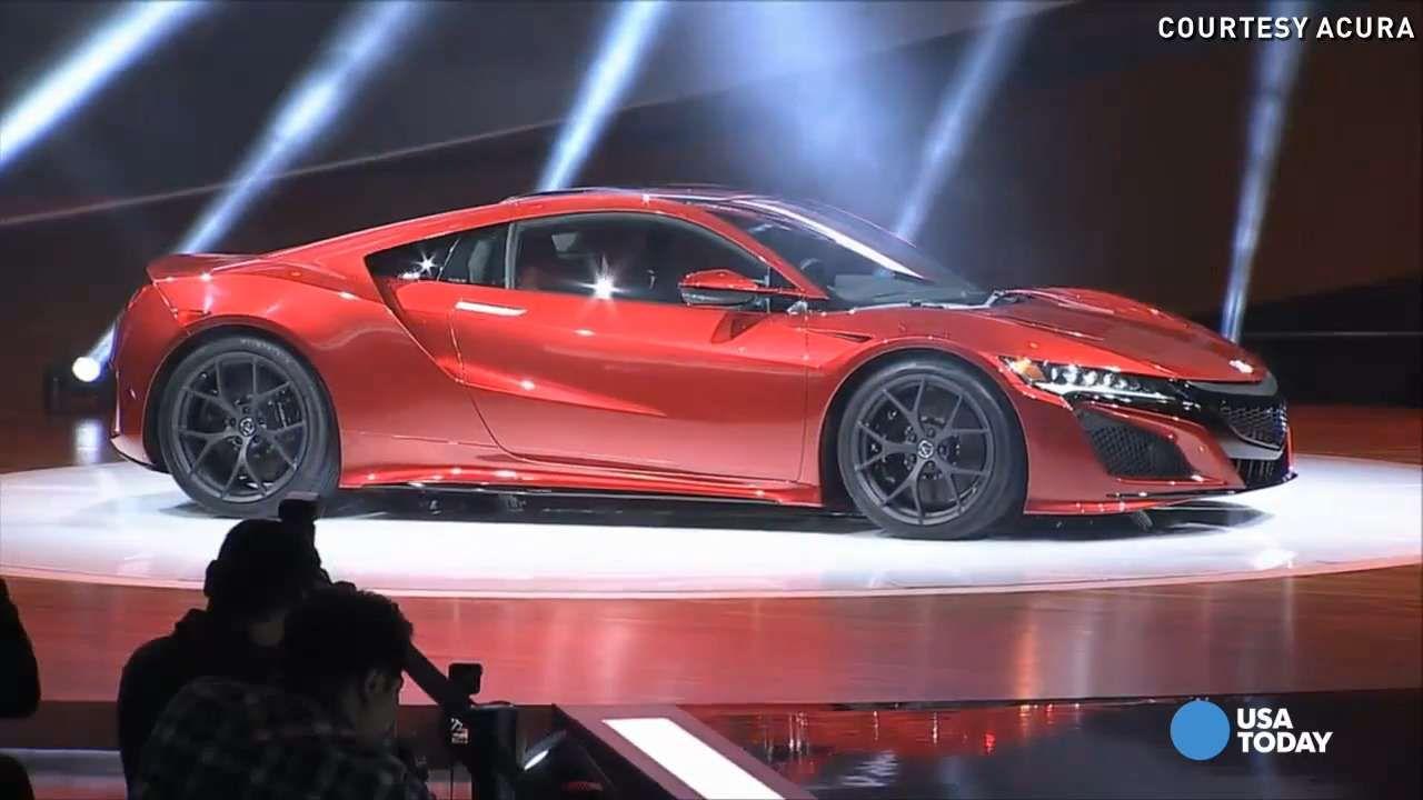 Auto Show Acura Prices New NSX Supercar At Httpwww - Auto show prices
