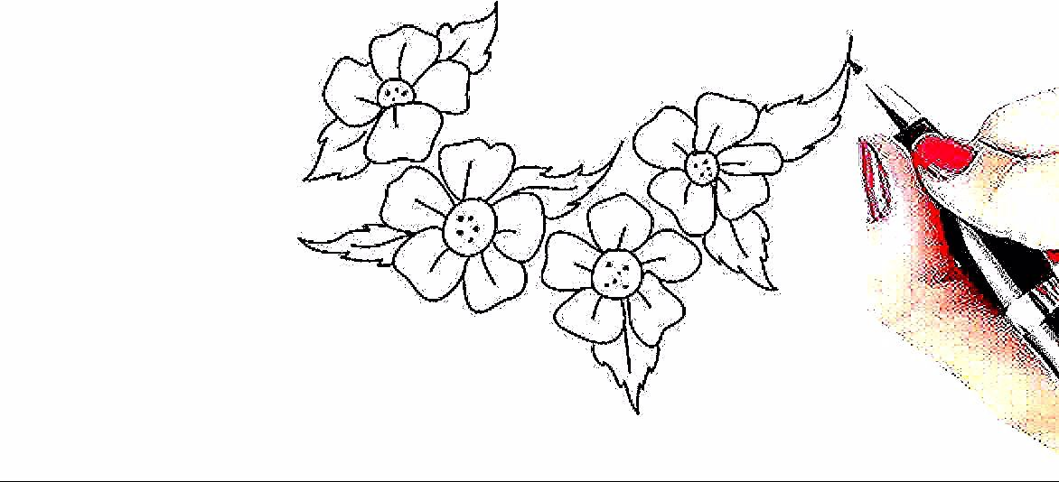Bunga Tulp In 2020 Flower Drawing Rose Flower Sketch Roses Drawing
