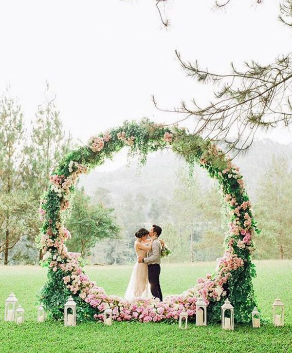 Diy Wedding Wreaths: Image Result For Circle Arches