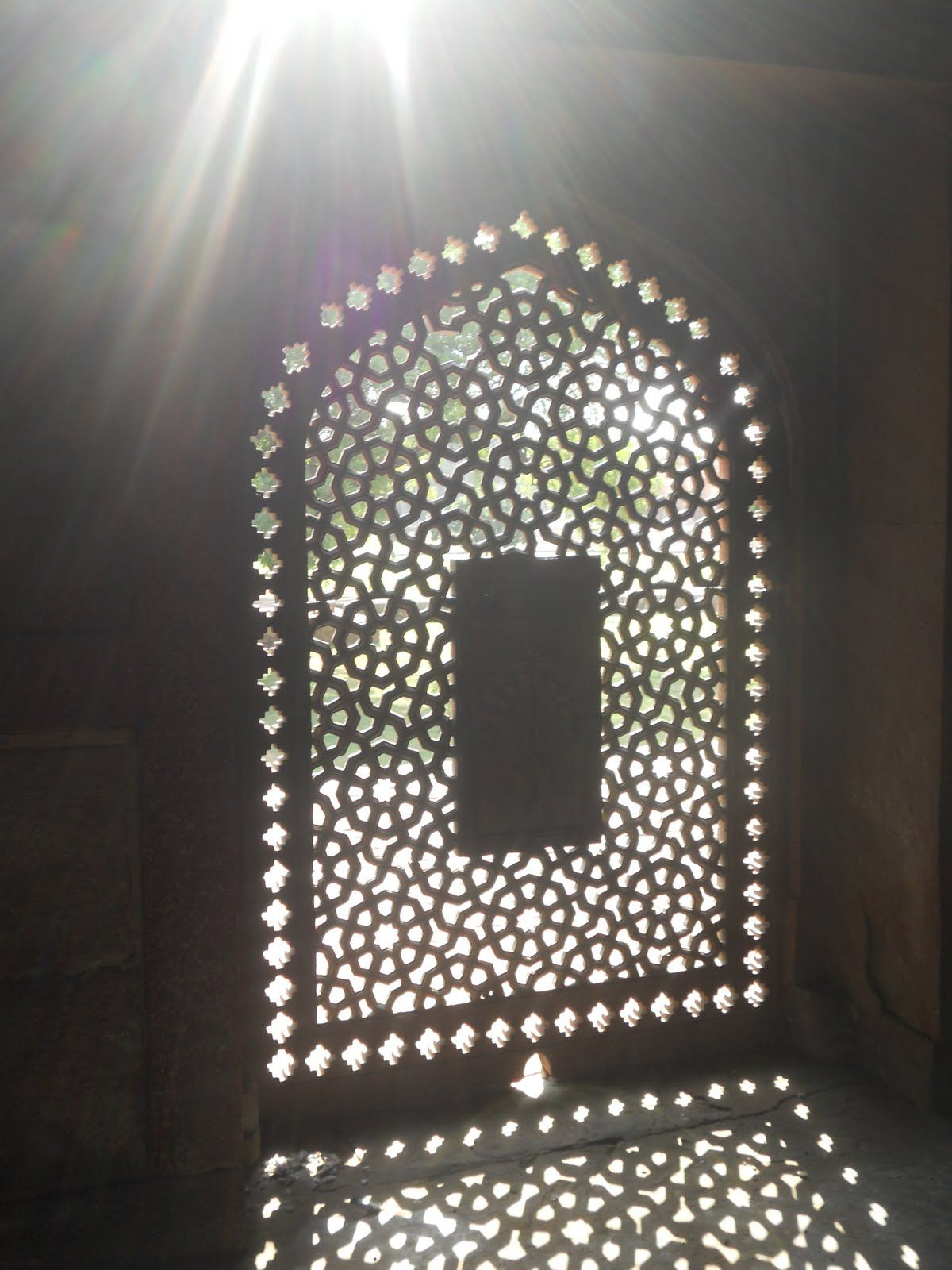 Traditional Jaali In Mughal Architecture Design
