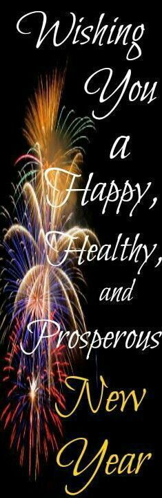 have a healthy prosperous new year