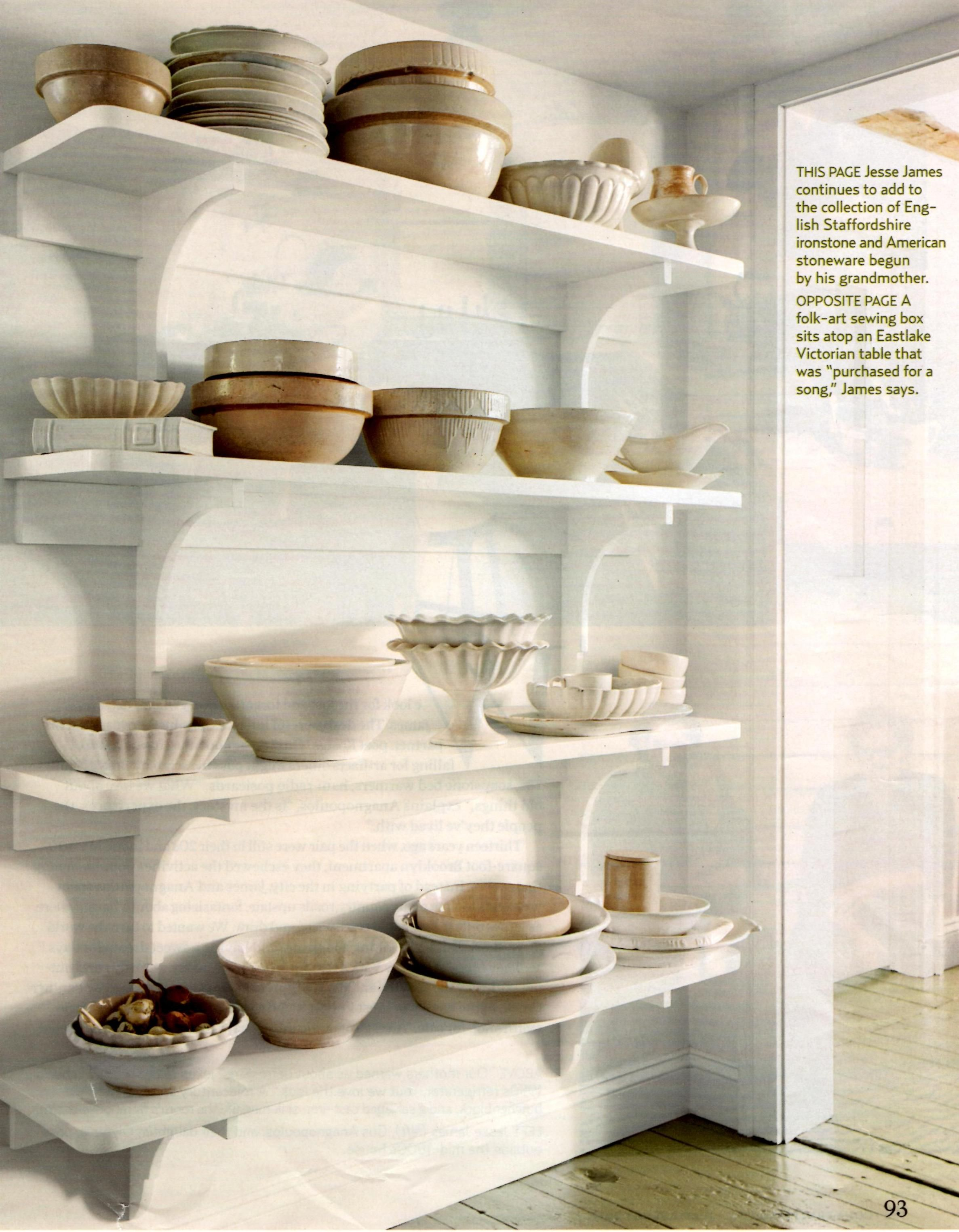 Kitchen decor open shelving deas para m cosina - Accesorios decoracion hogar ...