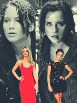 Jennifer Lawrence And Emma Watson My Favorite Heroines Kristen Stewart Twilight Jennifer Lawrence Celebrities