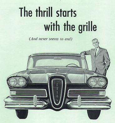 Edsel Advertisement Retro Cars Classic Cars Ford Motor Company