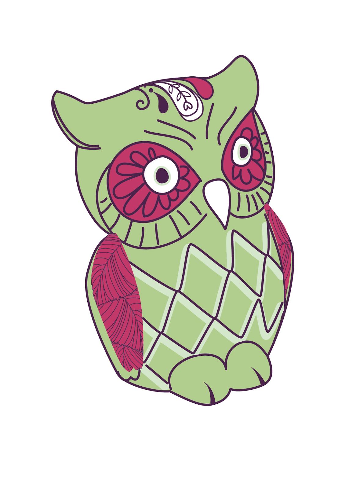 Oh So Lovely Free Owl Er Printables