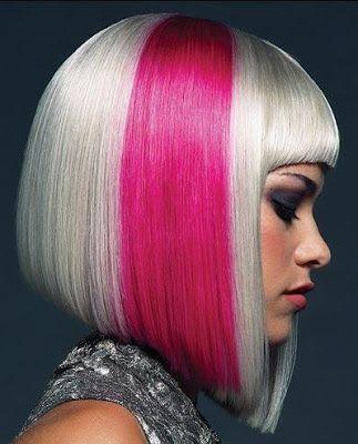 Cabelos Coloridos Estao Na Moda Galeria 1 Duas Cores Hair