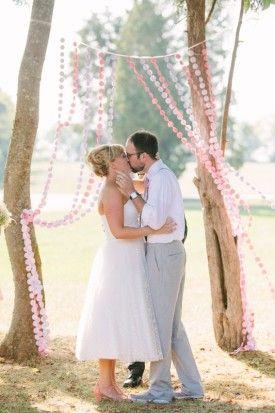 Laid-back rustic Maryland wedding