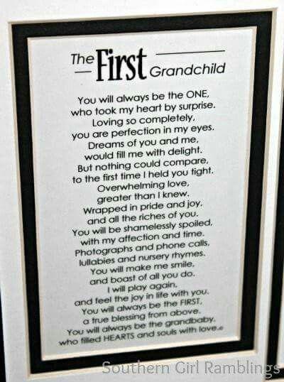 The First Grandchild Poem Baby Room Pinterest Grandchildren Poem And Grandkids