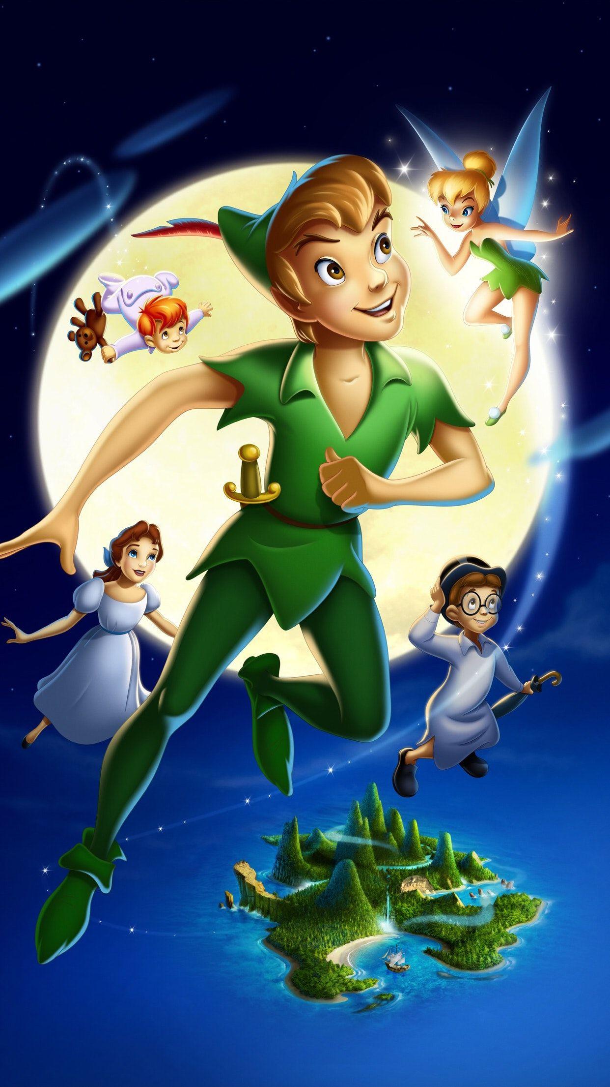 Peter Pan 1953 Phone Wallpaper Wallpaper Peter Pan Peter Pan