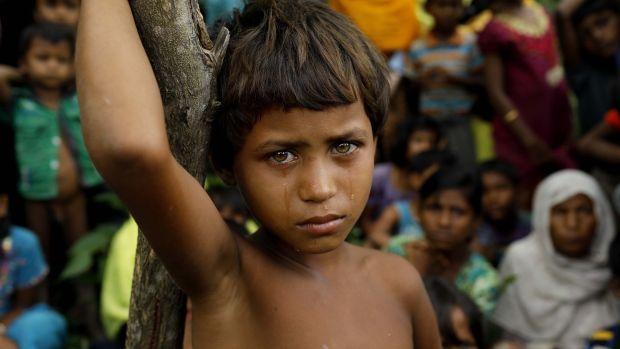 No Food, No Shelter for Rohingya Crossing into Bangladesh