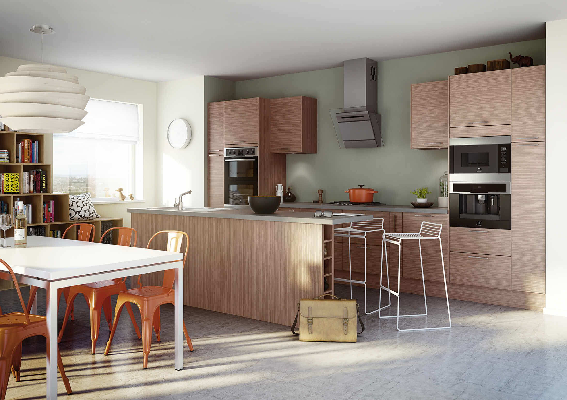 Fantasy Oak Kitchen design, Kitchen style