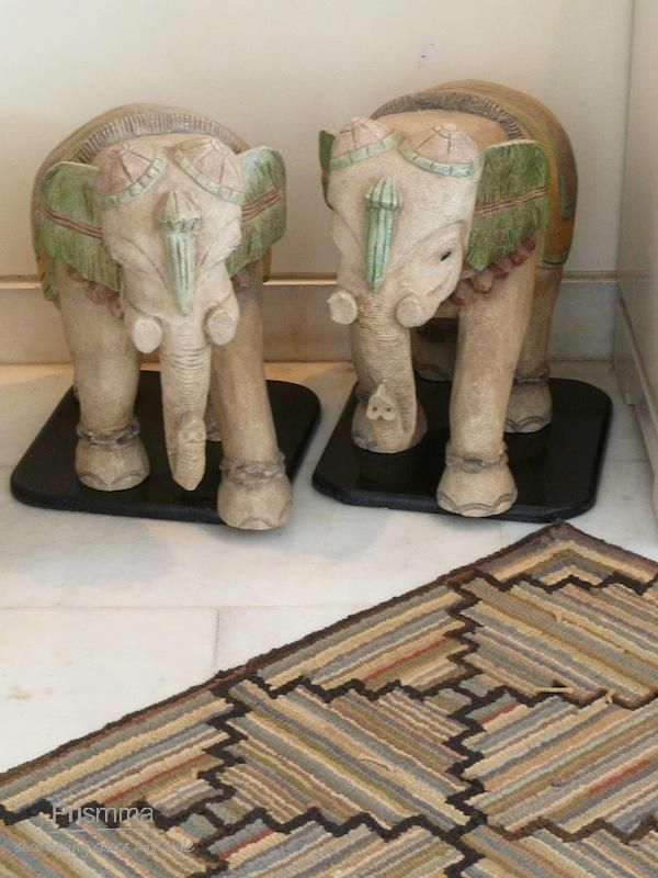 Marble Elephants India Handicrafts Decor Textiles Artisan Crafts