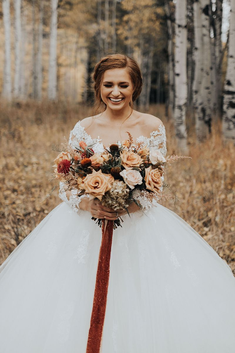 Fall Wedding Inspiration Styled Shoot In Style 2309 Elsie Long