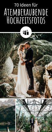 70 ideas for stunning wedding photos