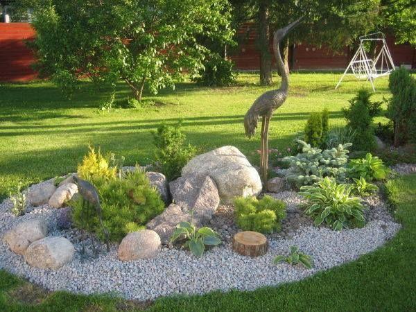 Benutzen Sie Steine in Ihrem Garten zur Dekoration oder für Gehwege ...