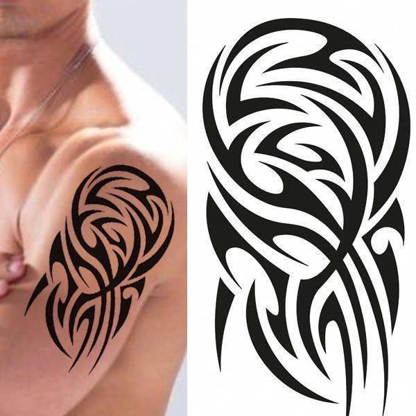 Black Henna Tattoo Uk: Samoan Tattoos Chest #Samoantattoos