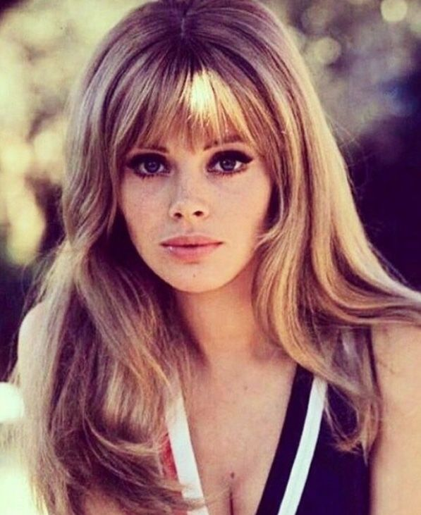 Pin By Lisa On Mod 70s Hair Vintage Hairstyles Hairstyles With Bangs