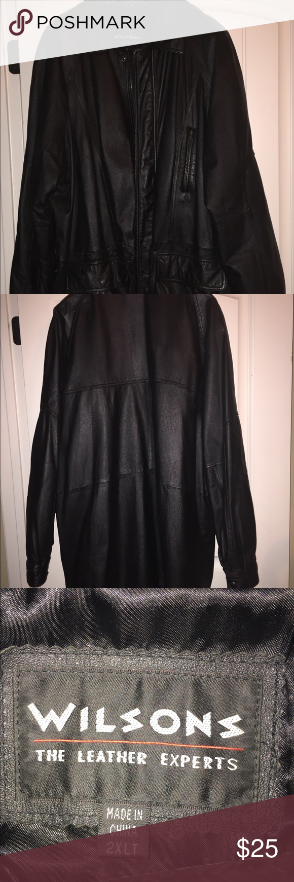 Wilson Leather Jacket 2XLT Wilsons leather jacket