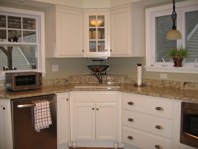 Seeded Glass Corner Cabinet Corner Kitchen Cabinet Corner Sink Kitchen Kitchen Wall Cabinets