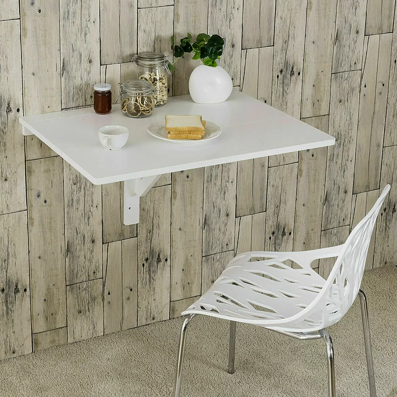 Way Wick Wall Mounted Drop Leaf Dining Table Wall Mounted Table Folding Walls Drop Leaf Table