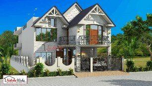 Modern Villa House Design 59 53Double Home Plan