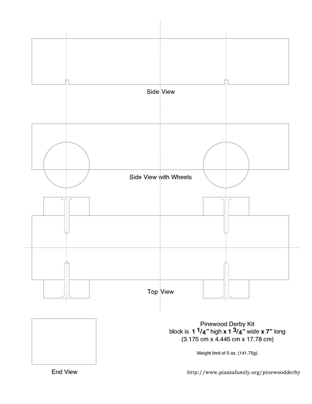 Pinewood Derby Design Templates Cars Patterns