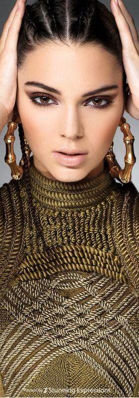 Kendall Jenner 4 Balmain Fall Looks - Sunday Times Style Shoot.