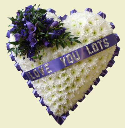 Funeral Flower Hearts Purple Flower Arrangements Funeral Flowers Funeral Caskets