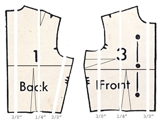 Pattern Grading: how-to re-size any sewing pattern | Sewing Ideas ...