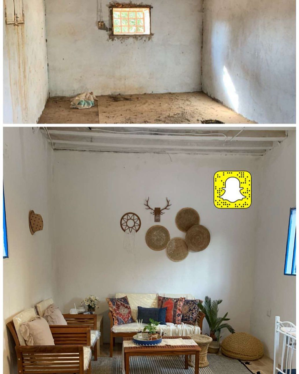 طور منزلك On Instagram غرفة مزرعه قبل وبعد التطوير رايكم وهل ناقص شي للمزيد مرر لليسار افكار نورة Storage Home Decor Storage Chest