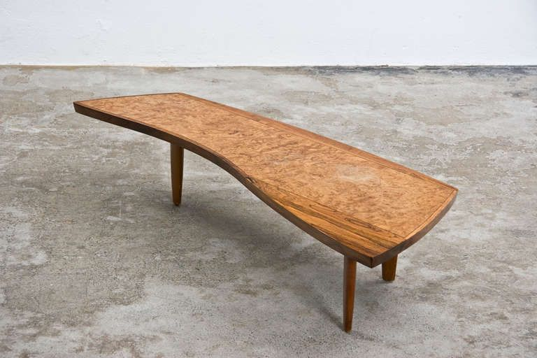 George nakashima coffee table from a unique collection for Unusual cocktail tables