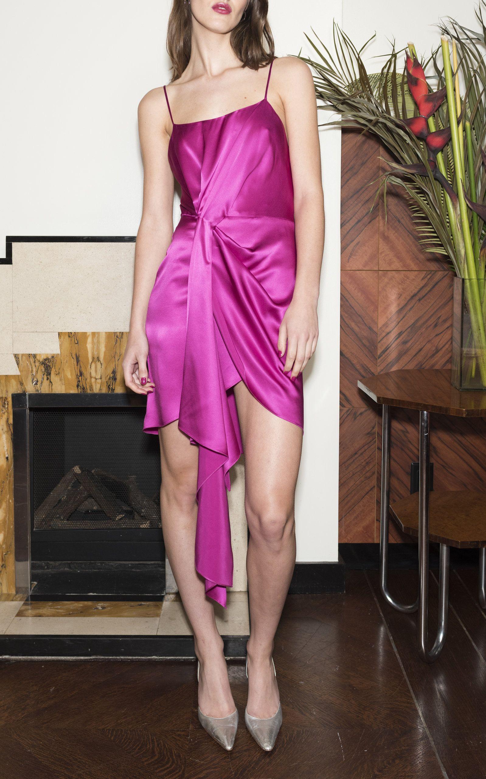 Cascade Silk Slip Dress By Fleur Du Mal Moda Operandi Slip Dress Silk Slip Dress Dresses