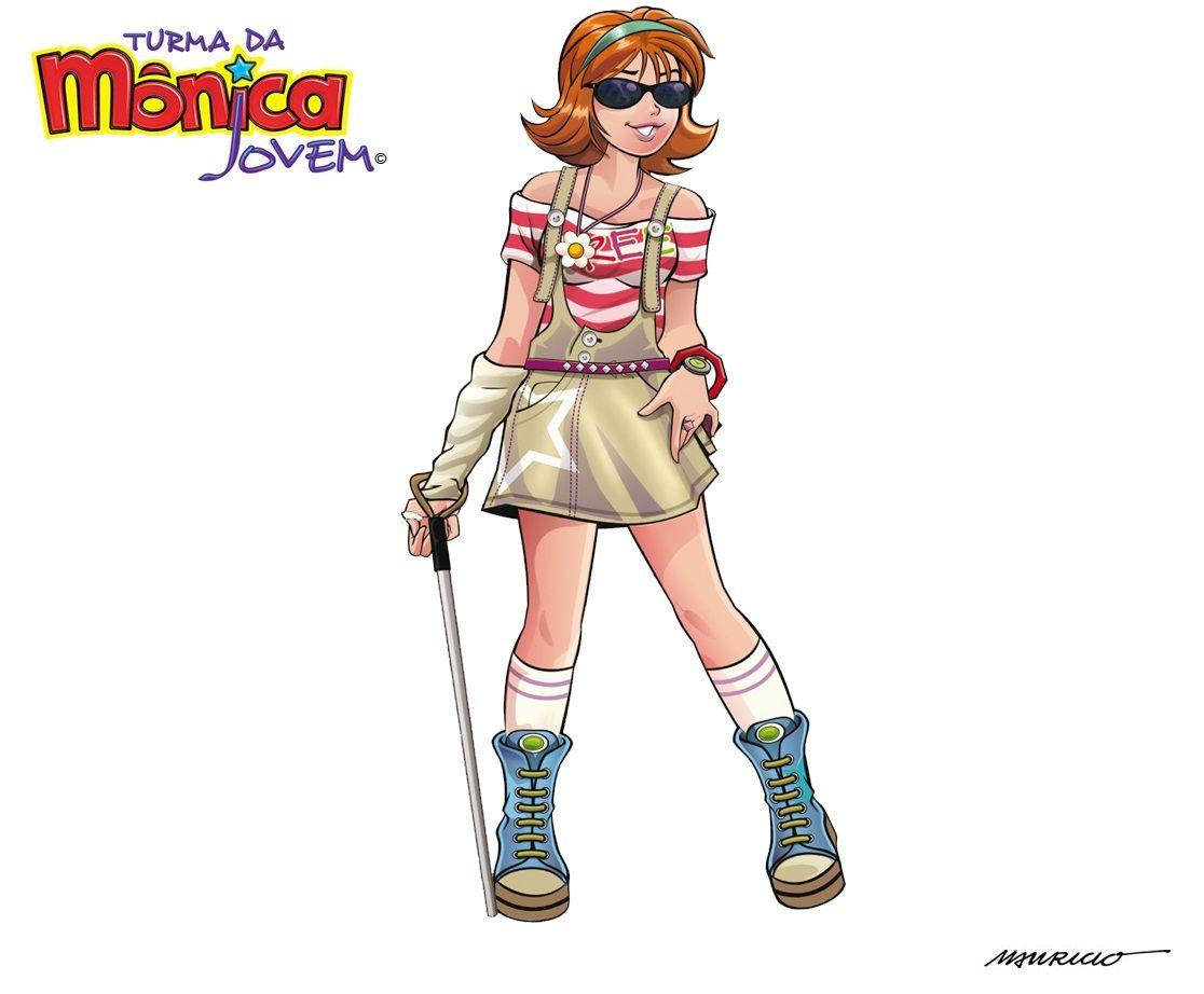 Wallpaper Da Dorinha Monica Jovem Turma Da Monica Jovens