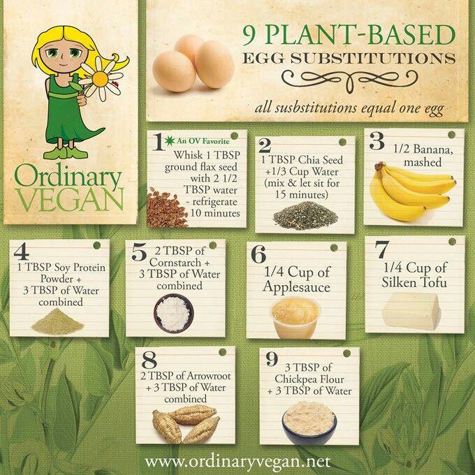 So Little Eggs So Many Substitutions Substitute For Egg Vegan Egg Substitute Plant Based Eggs