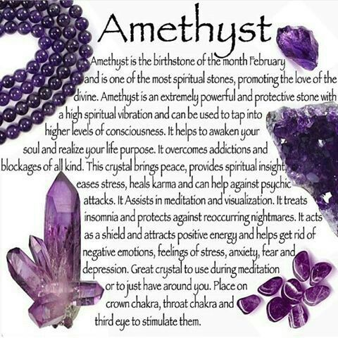 Amethyst metaphysical properties | Chi sleeps in Rocks and ...