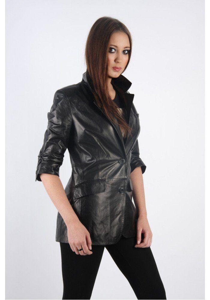 Кожаные куртки женские 2015: 57 фото качественной модной ...