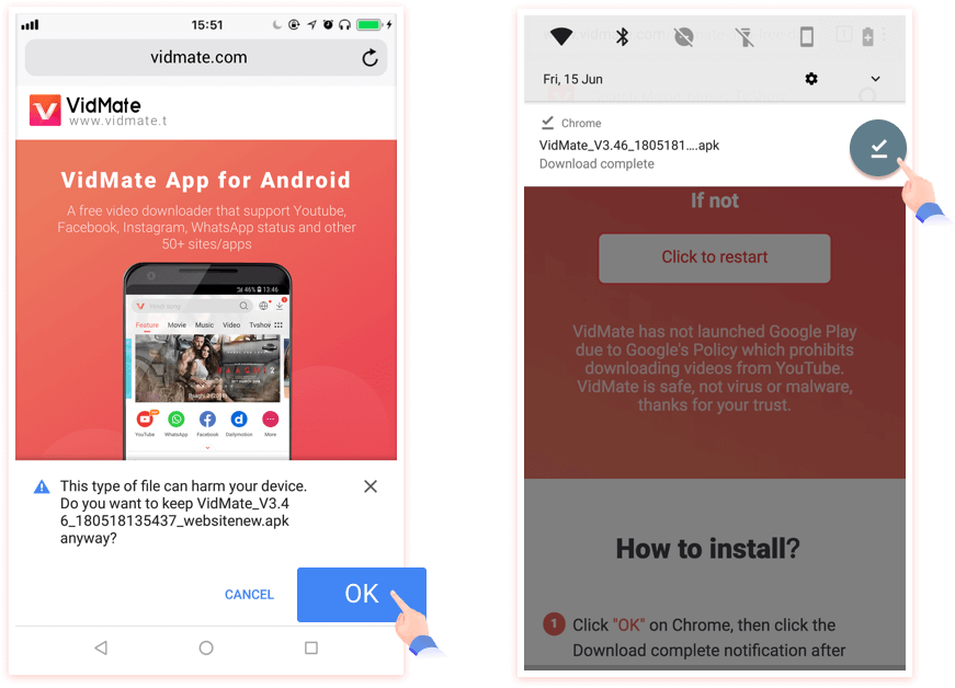 VidMate Download VidMate apk and VidMate App for Android