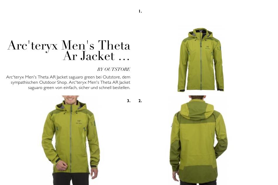 Arc'teryx Centrale Parka Xs Best Men's Outerwear Brands