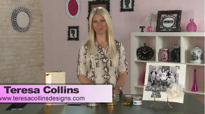Teresa Collins: Office Supplies & Duct Tape  Today's show is all about using office supplies and duck tape as a trendy design element. Teresa will show you how she uses duck tape to create border accents on layouts, notepads, and create your own mini book.