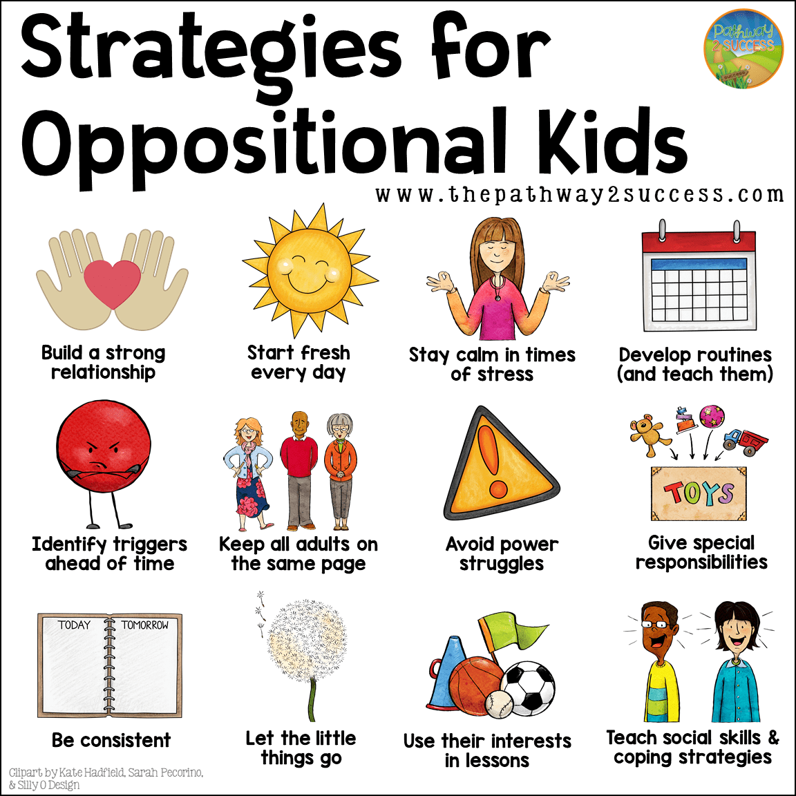 Strategies For Oppositional Kids With Images