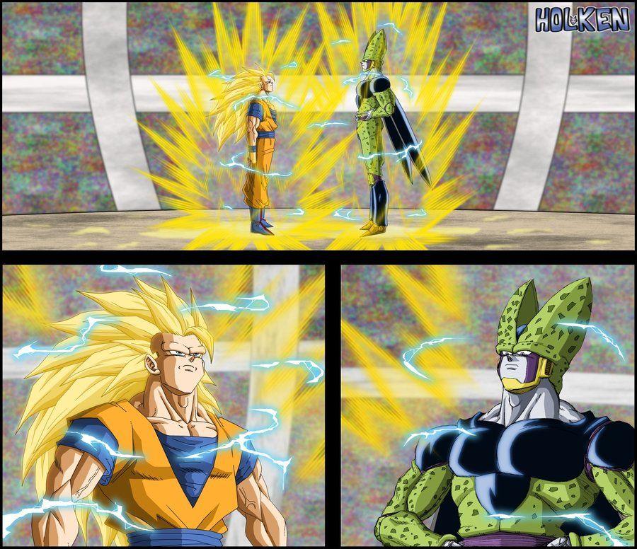 Son Gokû ssj3 VS Perfect Cell, dreamed fight ! drawing just for fun and training. Son Gokû contre Cell, combat rêvé ! juste pour le fun et l'entrainement, j'essaye de dessiner des personnages avec ...