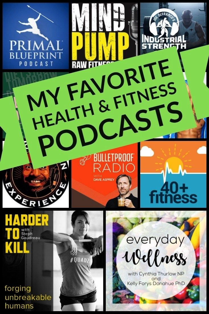 #favorite #podcasts #fitness #health #othfit #over #hill #the #myMy Favorite Health & Fitness Podcas...