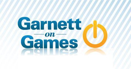 Logo Design For the Garnett on Games Podcast by Gary Grinkevich, via Behance