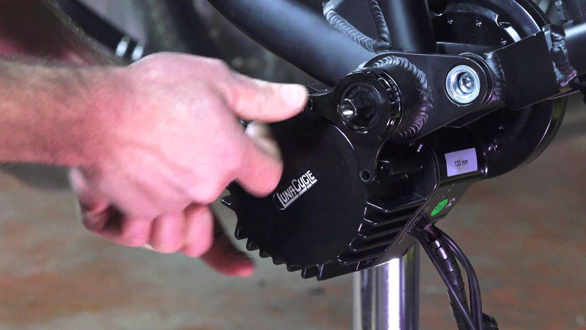 Luna Cycle BBSHD 1000w Bottom Bracket Installation | BICYCLE