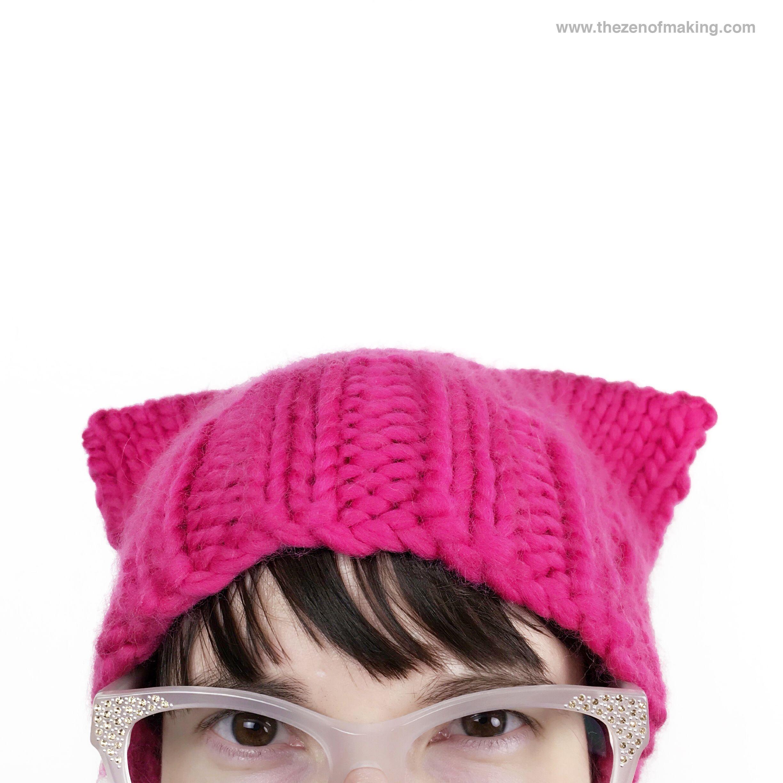 Tutorial  Basic Pussyhat Knitting Pattern  567c1ffc5070