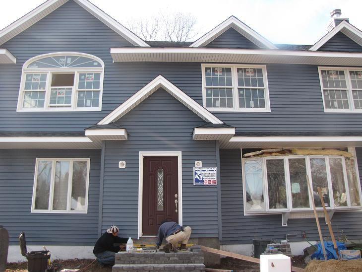 Exterior Home Color Scheme Minus The Door House Exterior Blue