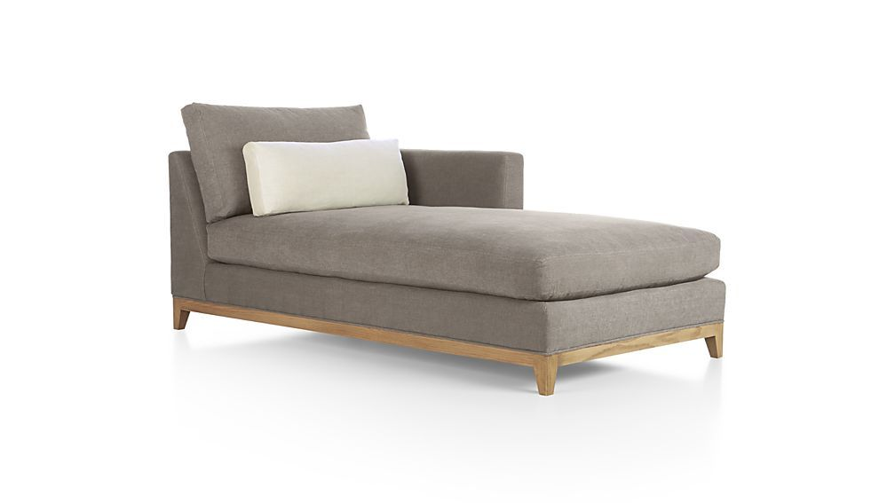 Marvelous Taraval Sectional Right Arm Chaise Lounge With Oak Base Awesome Ideas