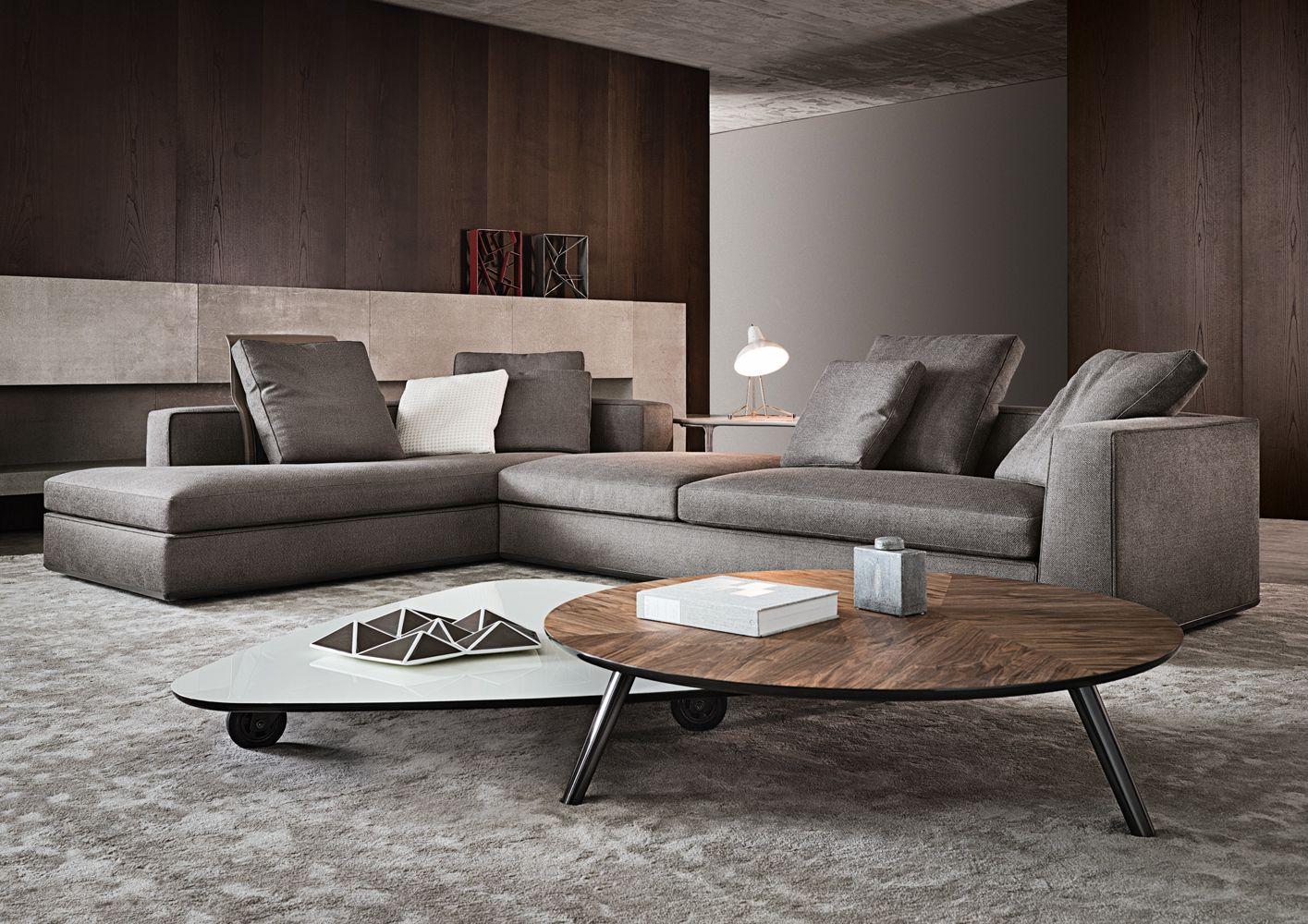 Wohnzimmer in Grau mit Eckcouch im Mittelpunkt – 55 Ideen ...