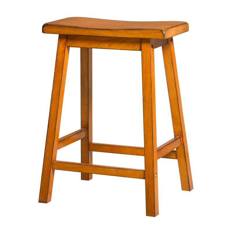 Acme Furniture Gaucho Antique Counter Stool - Set of 2 - 966