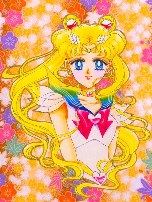 Sailormoon, i love the manga style art.